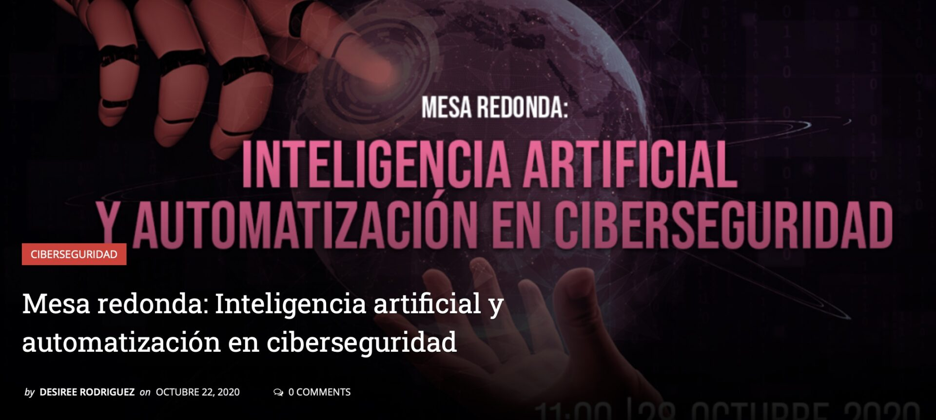 Inteligencia Artificial y Ciberseguridad