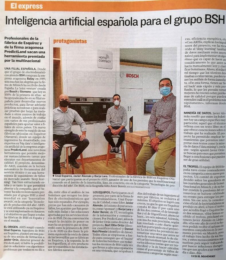 Entrevista Premio BSH - LOW