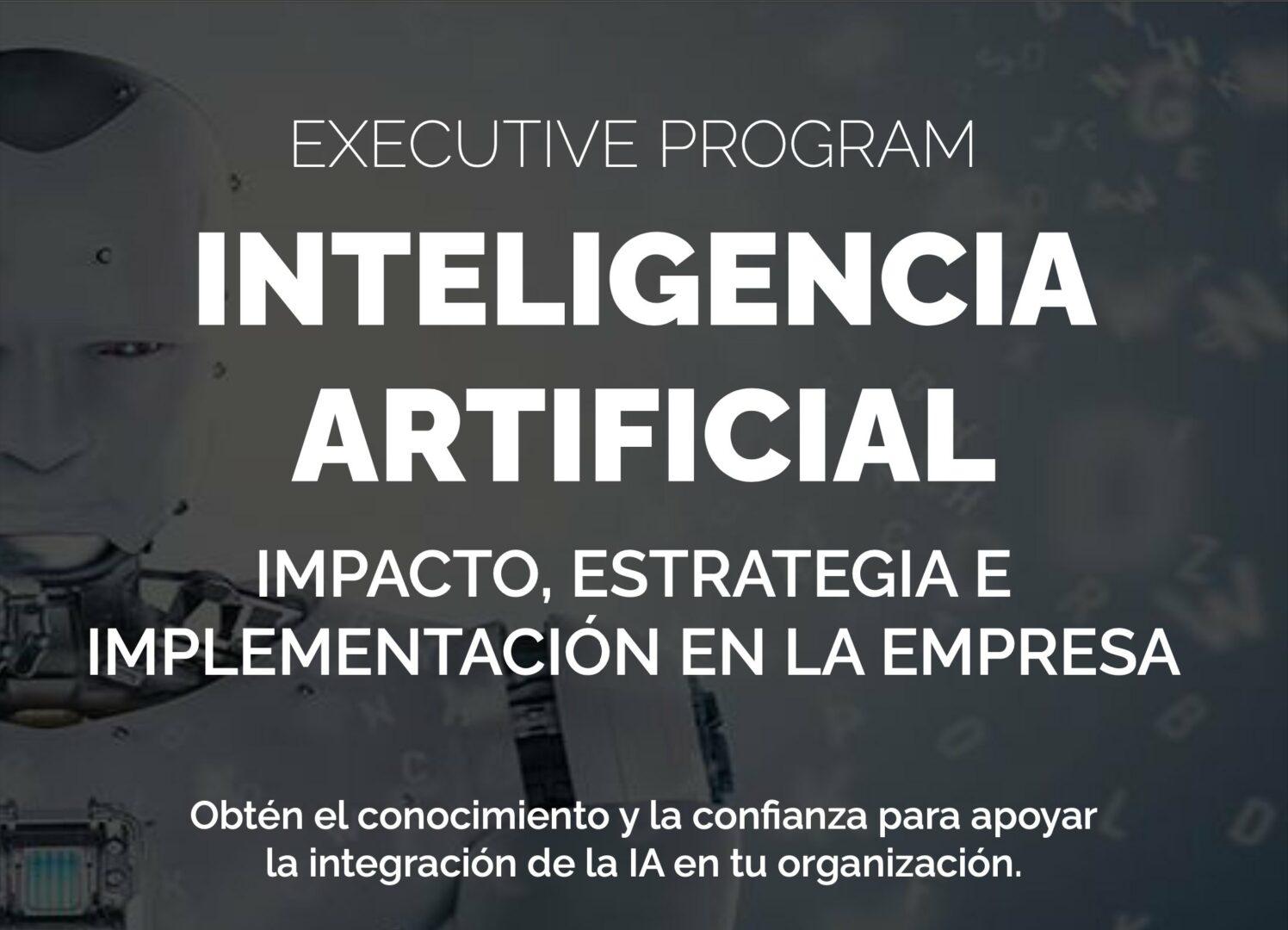 Executive Program Inteligencia Artificial