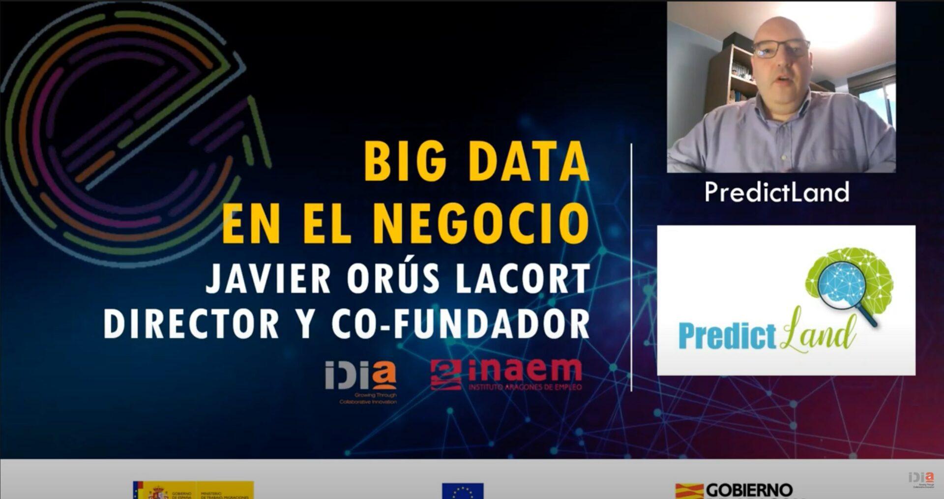 IDiA Big data en el negocio